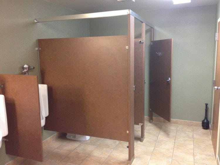 Commercial Bathroom Stalls | Springhill Kitchen & Bath | Custom, Budget, & Commercial Cabinetry | Gainesville, FL