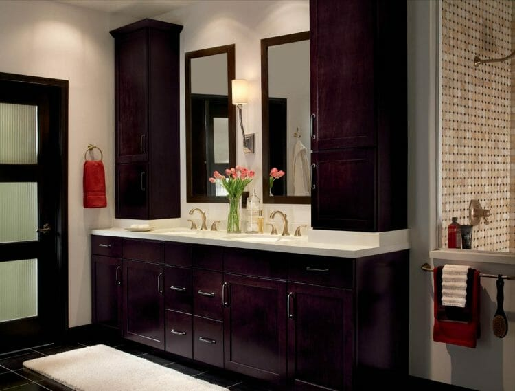 Traditional Bathroom Cabinetry   Springhill Kitchen & Bath   Custom, Budget, & Commercial Cabinetry   Gainesville, FL   Featuring Waypoint Living Spaces