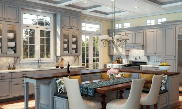 Timeless Beauty Traditional Kitchen Cabinetry | Springhill Kitchen & Bath | Custom, Budget, & Commercial Cabinetry | Gainesville, FL | Featuring Waypoint Living Spaces