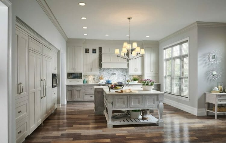 Traditional French Country Farmhouse Kitchen | Springhill Kitchen & Bath | Custom, Budget, & Commercial Cabinetry | Gainesville, FL | Featuring Medallion Cabinetry
