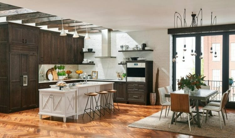 Middleton Amesbury - French Country Eclectic Kitchen | Springhill Kitchen & Bath | Custom, Budget, & Commercial Cabinetry | Gainesville, FL | Featuring Medallion Cabinetry