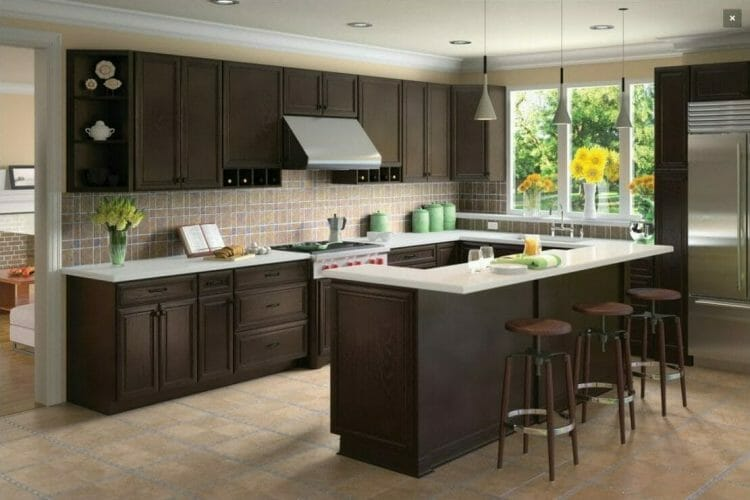 K-Series Espresso Traditional Kitchen | Springhill Kitchen & Bath | Custom, Budget, & Commercial Cabinetry | Gainesville, FL | Featuring Forevermark Cabinetry