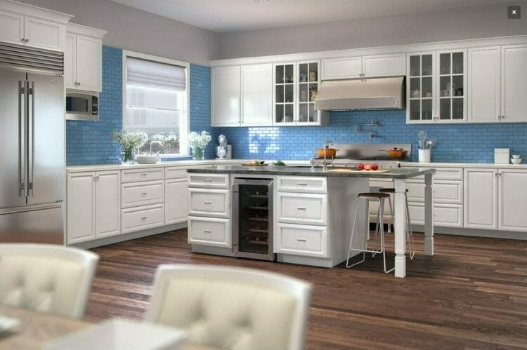 K-Series White Traditional Kitchen | Springhill Kitchen & Bath | Custom, Budget, & Commercial Cabinetry | Gainesville, FL | Featuring Forevermark Cabinetry
