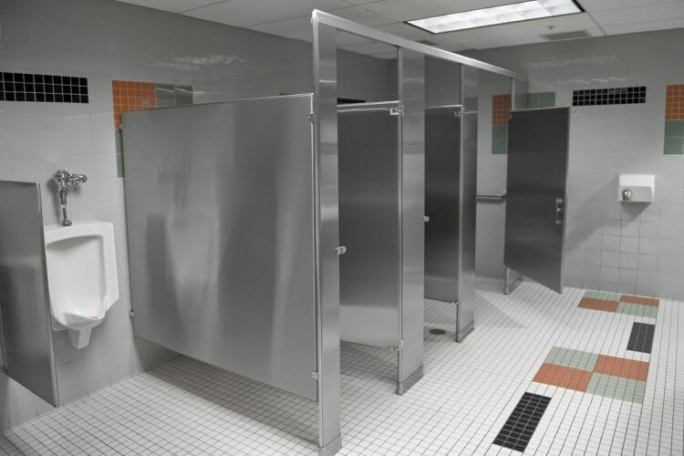 Toilet Stalls Stainless - Springhill Kitchen & Bath - Budget to Custom Commercial Cabinet Design & Installation - Gainesville, FL